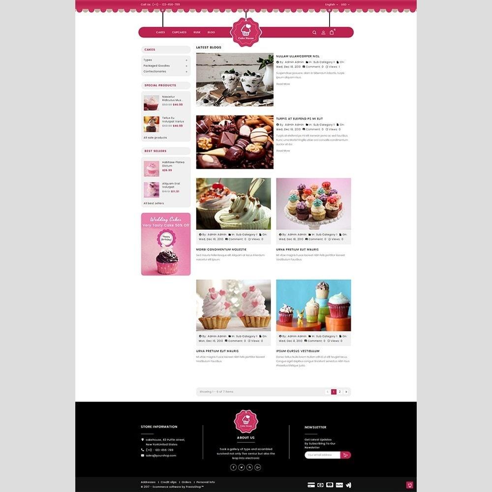theme - Cadeaux, Fleurs et Fêtes - Cake House - 8