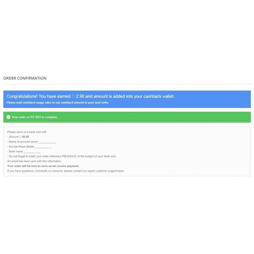 module - Referral & Loyalty Programs - Fancy Cashback Deal - 10