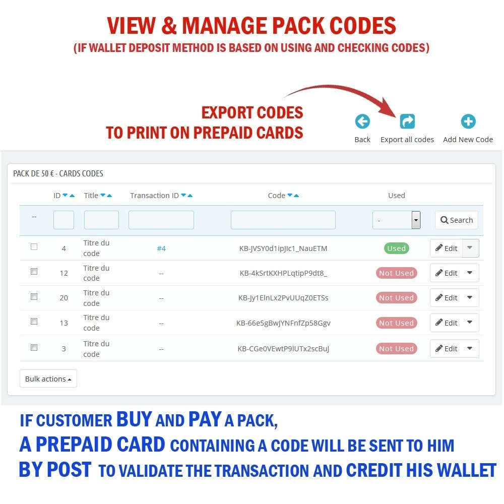 module - Prepago - WK Prepaid Cards - 7
