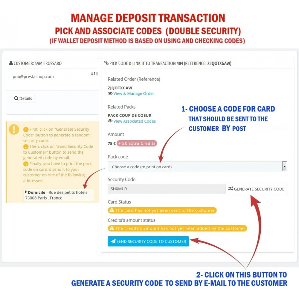module - Предварительная оплата - WK Prepaid Cards - 9