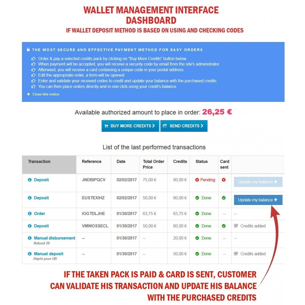 module - Предварительная оплата - WK Prepaid Cards - 13