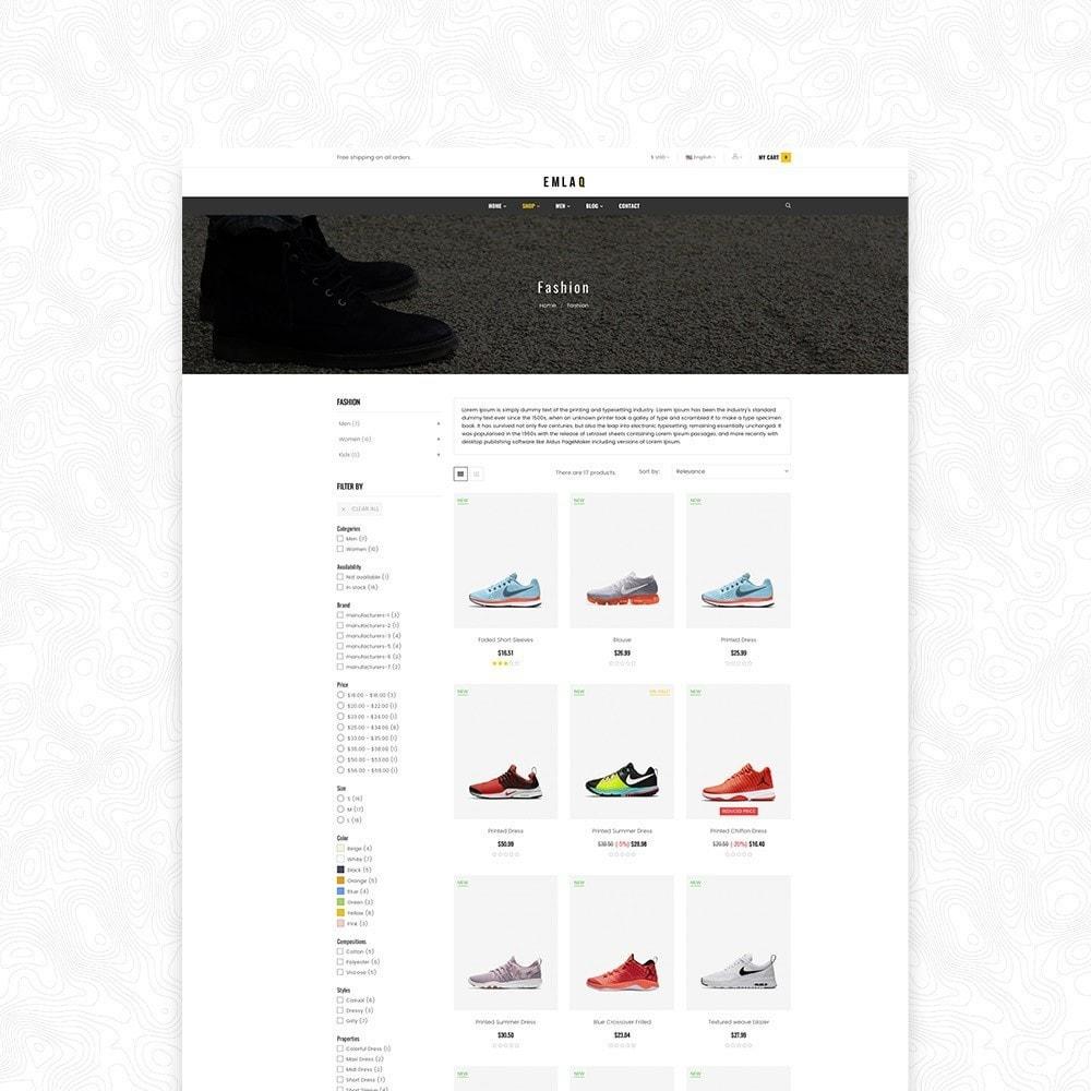 theme - Спорт и Путешествия - Elaq Fashion Sport Shoes Funiture Theme 1.7 - 4