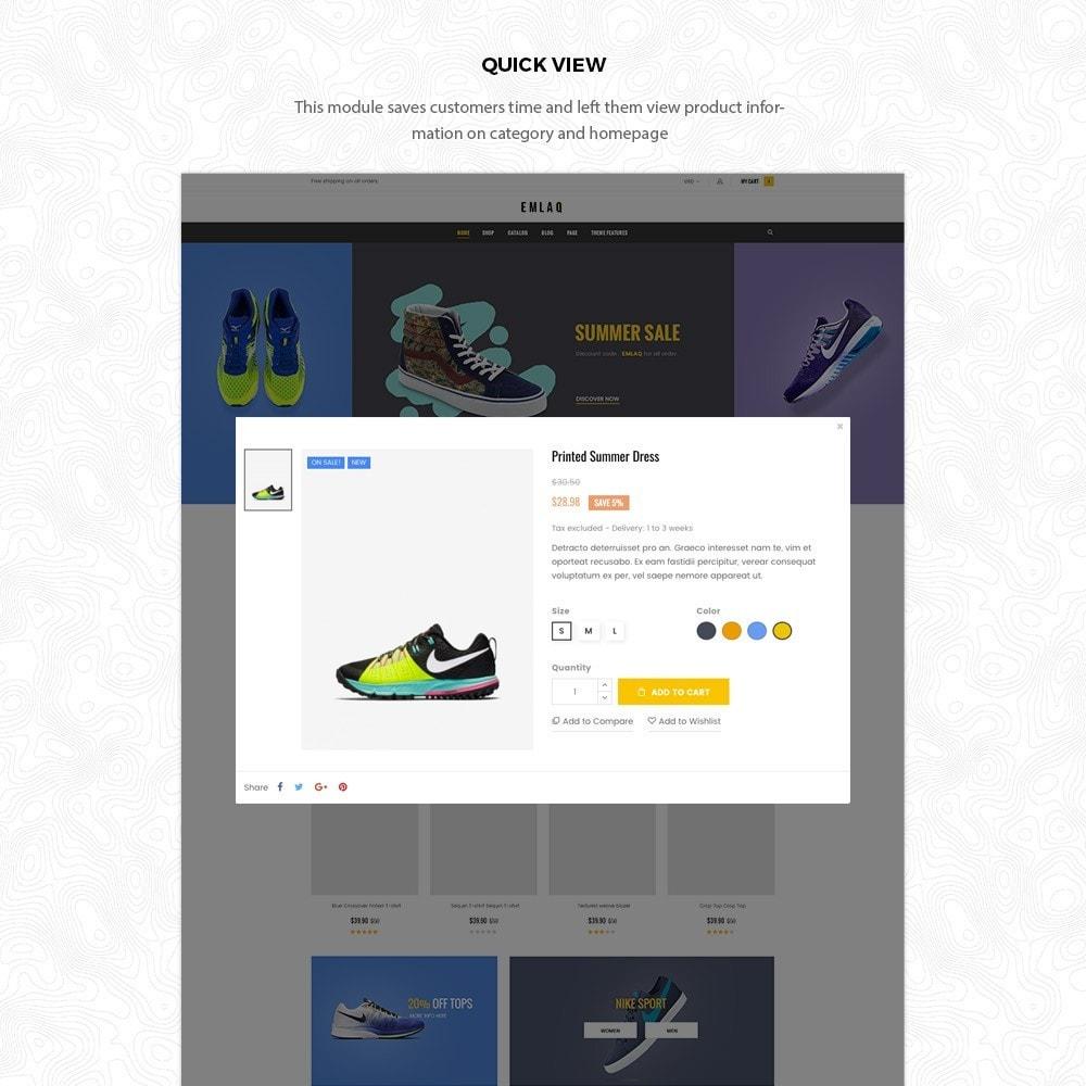 theme - Deportes, Actividades y Viajes - Elaq Fashion Sport Shoes Funiture Theme 1.7 - 5