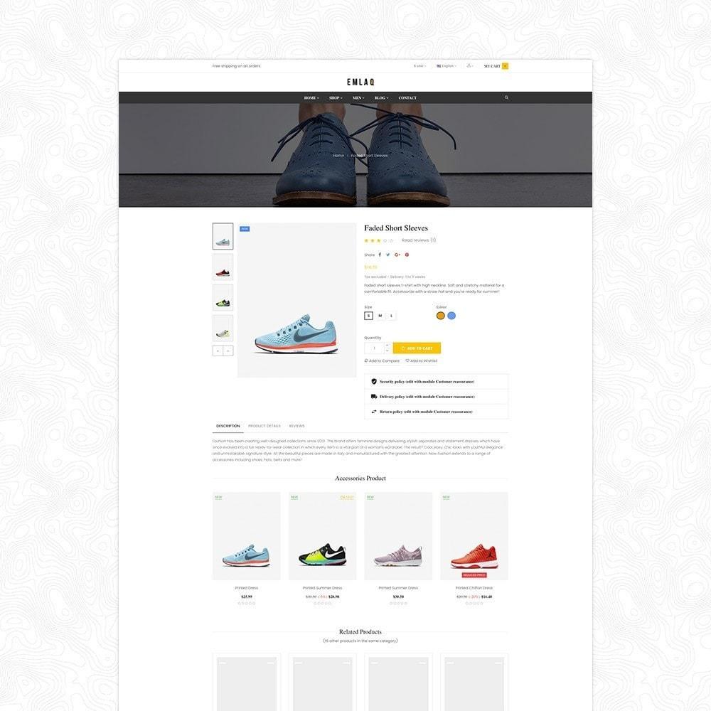 theme - Moda & Calçados - Elaq Fashion Sport Shoes Funiture - 7