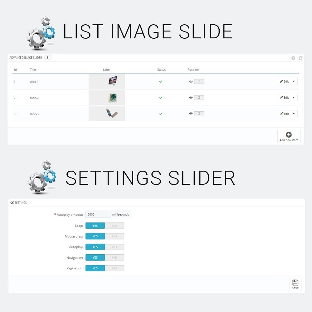 module - Silder & Gallerien - Advanced Image Slider - 3