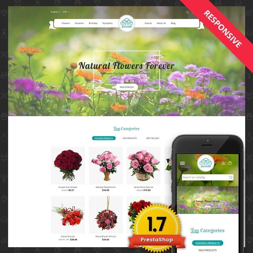 theme - Подарки, Цветы и праздничные товары - Blossom Flower - 1