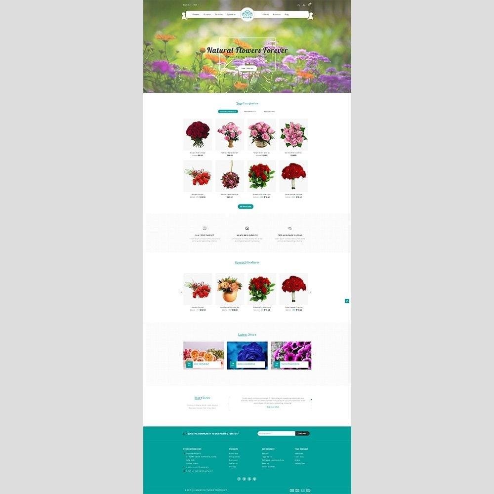 theme - Подарки, Цветы и праздничные товары - Blossom Flower - 2