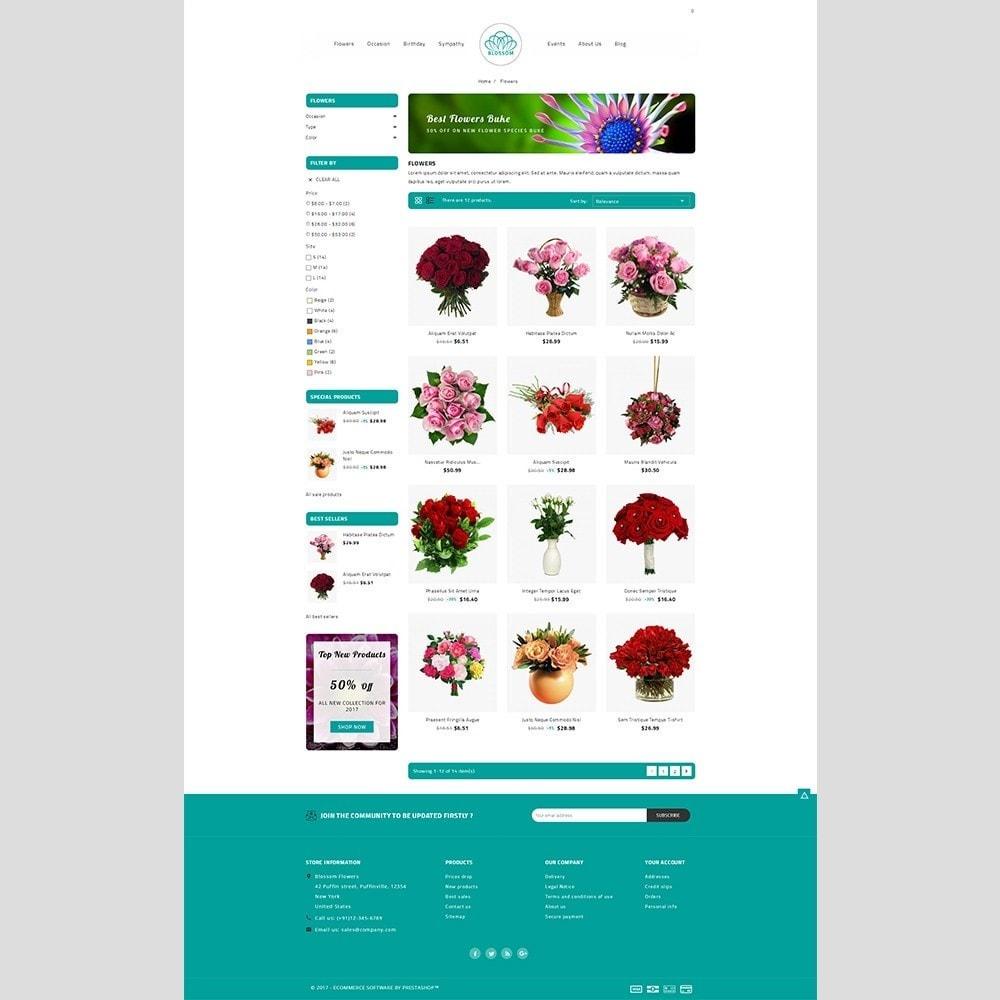 theme - Подарки, Цветы и праздничные товары - Blossom Flower - 3