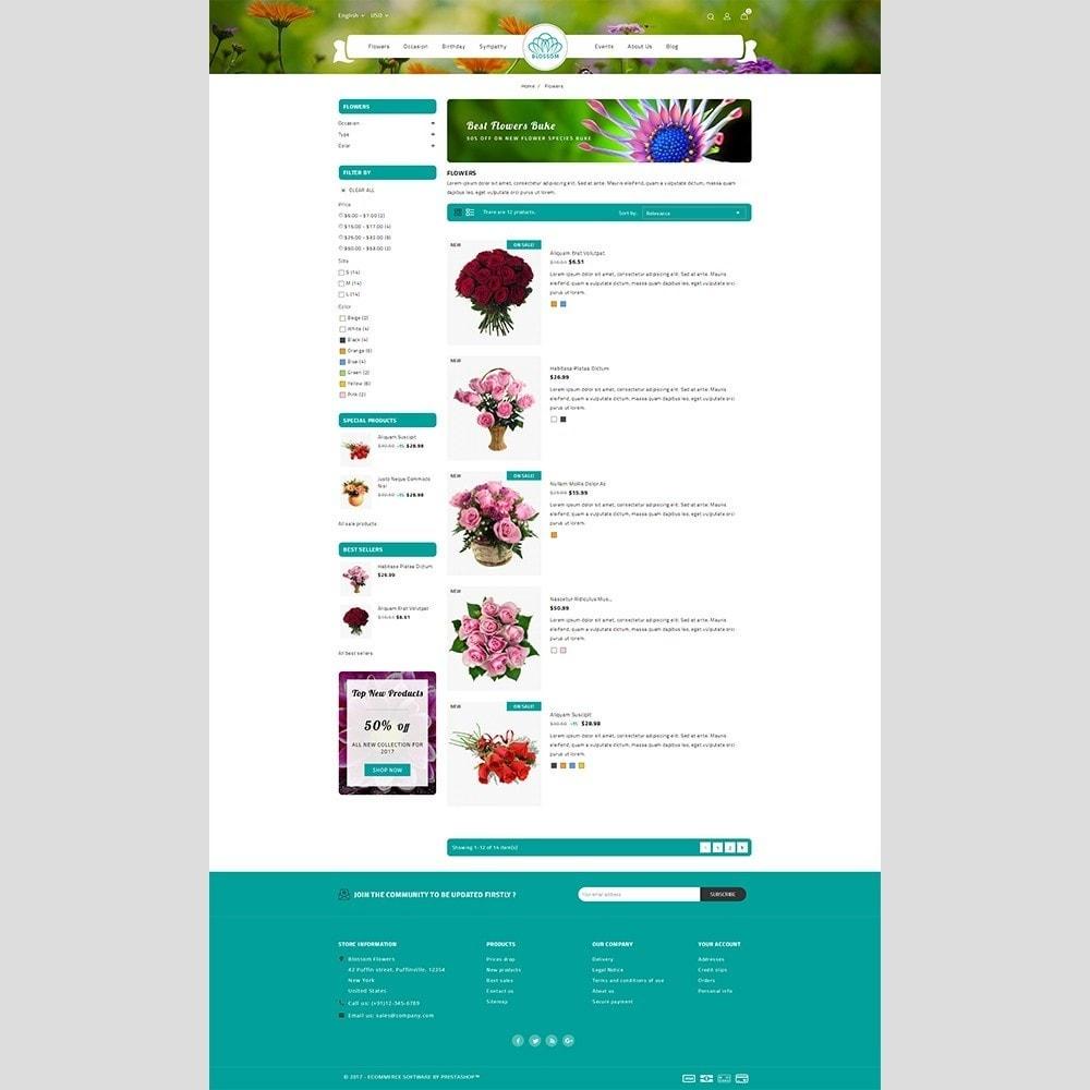 theme - Подарки, Цветы и праздничные товары - Blossom Flower - 4