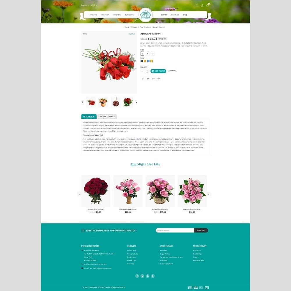 theme - Подарки, Цветы и праздничные товары - Blossom Flower - 5