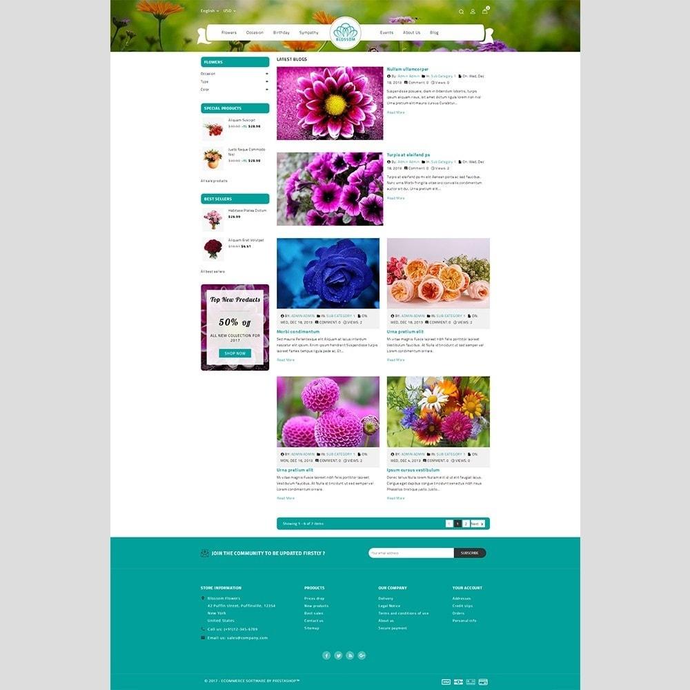 theme - Подарки, Цветы и праздничные товары - Blossom Flower - 6