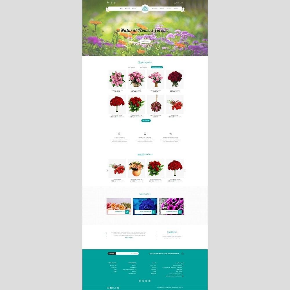theme - Подарки, Цветы и праздничные товары - Blossom Flower - 8