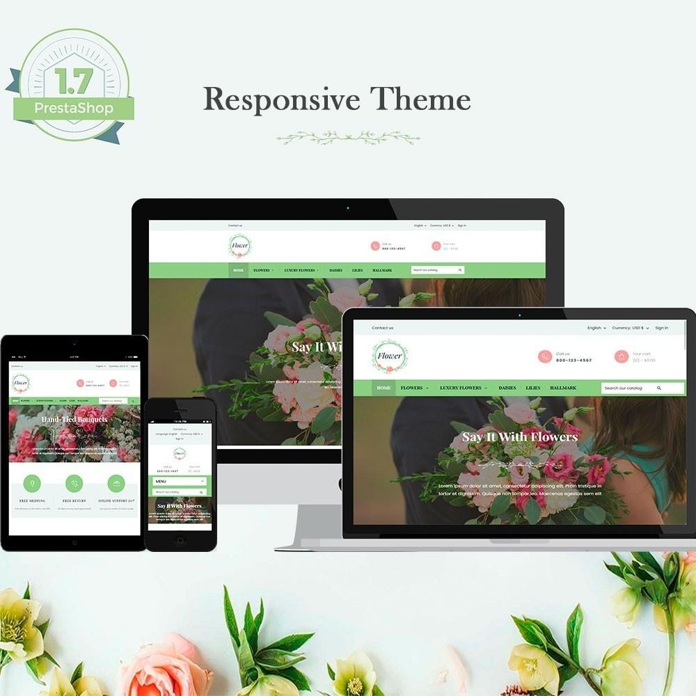 theme - Presentes, Flores & Comemorações - Flowers - 1