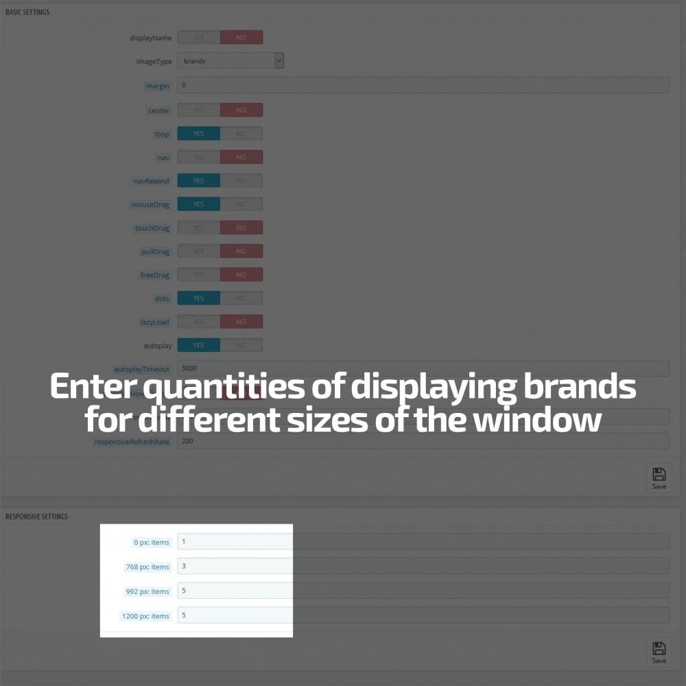 module - Sliders & Galeries - AN Brand Slider partenaires fabricants logo carousel - 5
