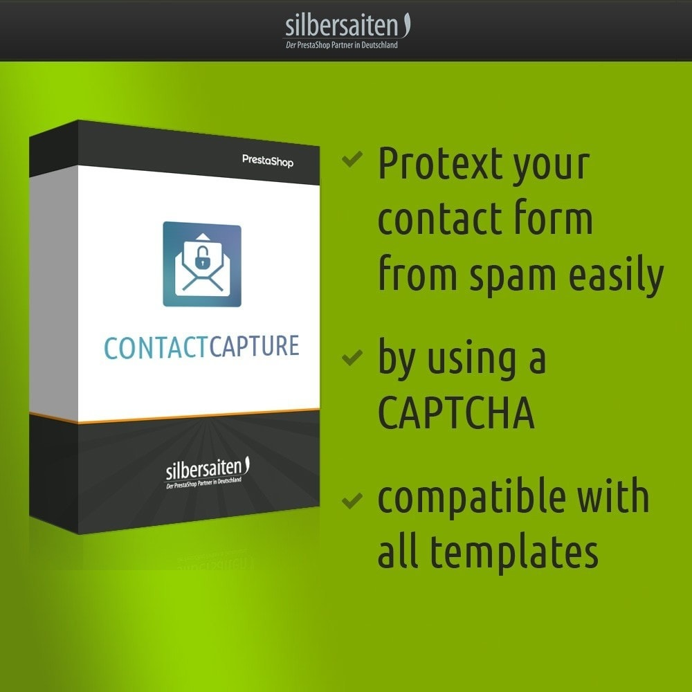 module - Безопасности и доступа - Contact Capture - protect your contact form from span - 1