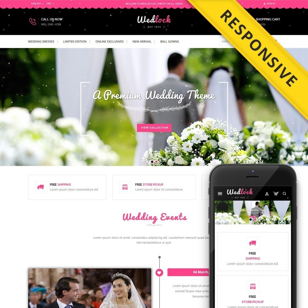 theme - Gifts, Flowers & Celebrations - Wedlock Wedding Store - 1