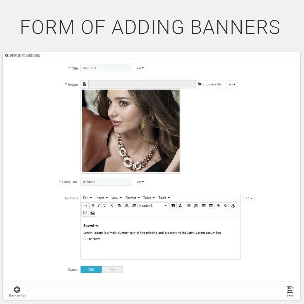 module - Blocks, Tabs & Banners - Banner Manager HTML Content Blocks & Slider - 5