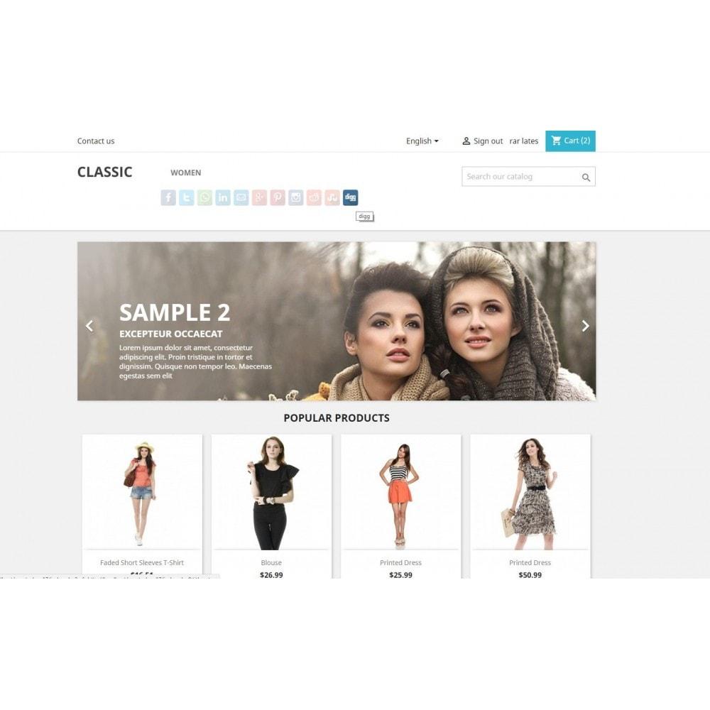 module - Boutons de Partage & Commentaires - CoolShare Plus Social networks - 6