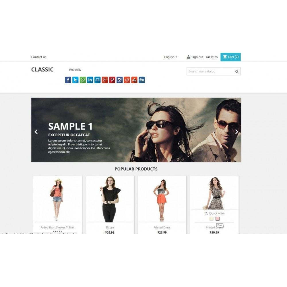 module - Boutons de Partage & Commentaires - CoolShare Plus Social networks - 7