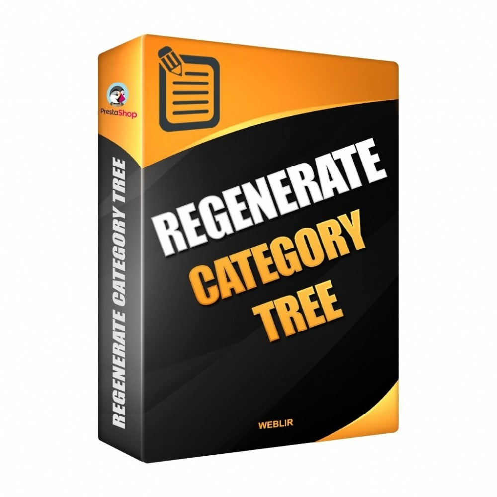 module - Quick Eingabe & Massendatenverwaltung - Regenerate the category tree - 1