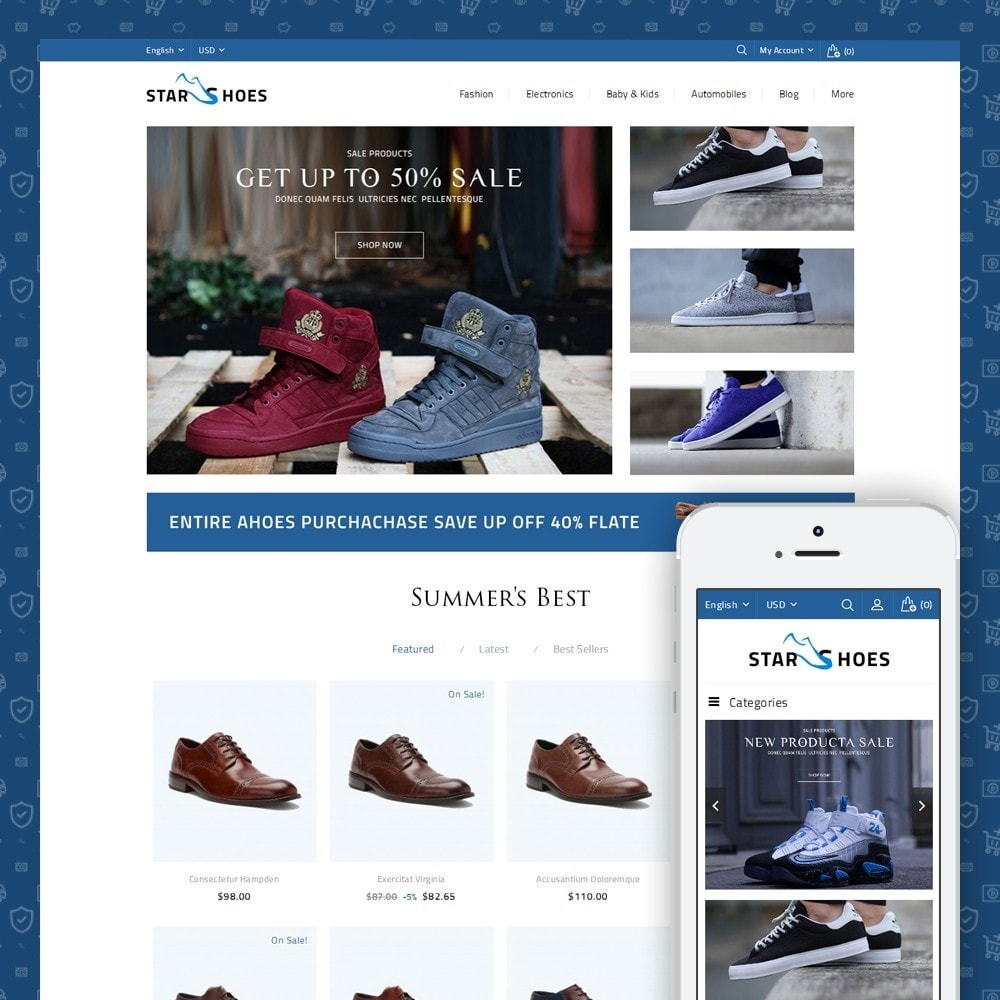 theme - Moda & Obuwie - Online Shoes Store - 1