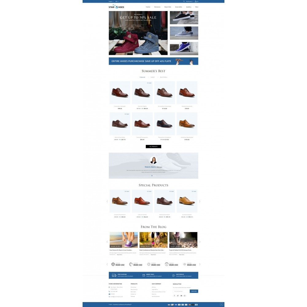 theme - Mode & Schuhe - Online Shoes Store - 2