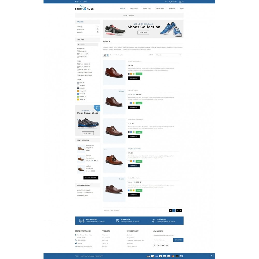 theme - Mode & Schuhe - Online Shoes Store - 4