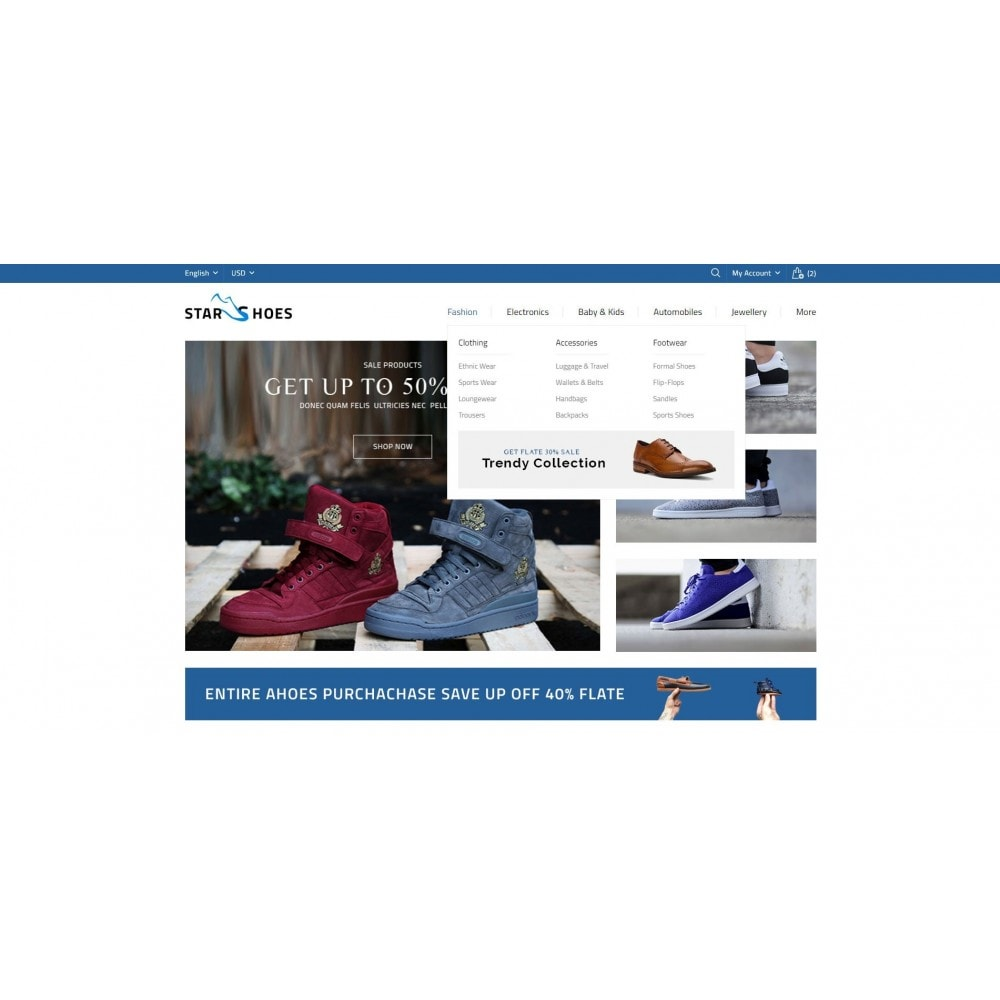 theme - Mode & Schuhe - Online Shoes Store - 6