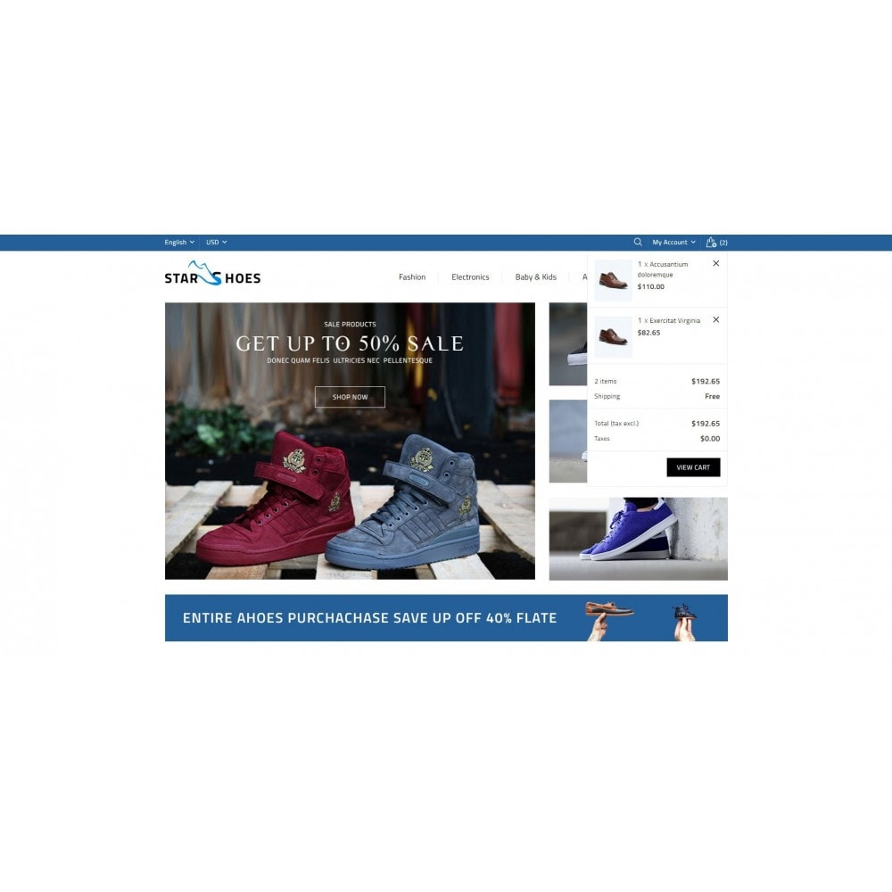 theme - Mode & Schuhe - Online Shoes Store - 8
