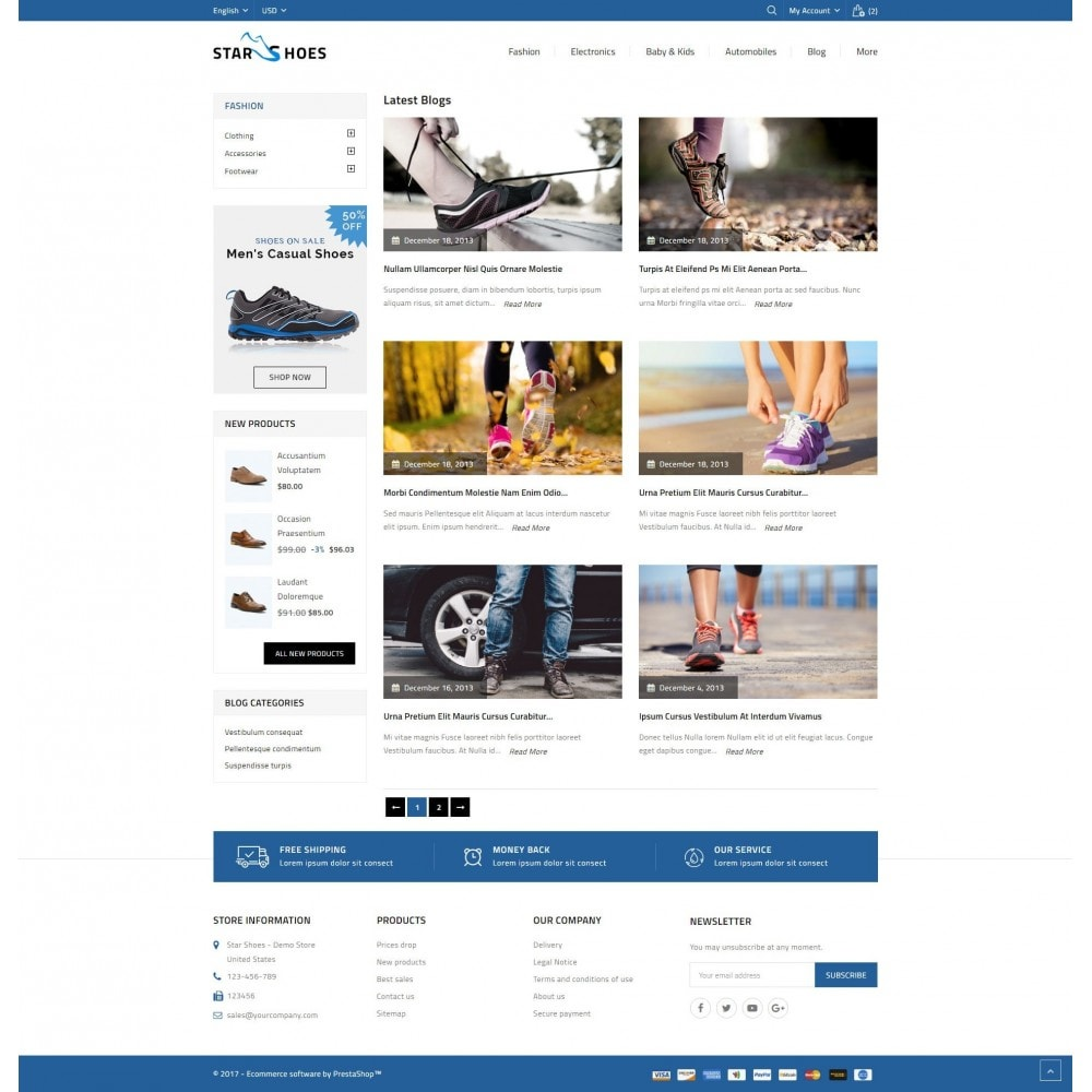 theme - Mode & Schuhe - Online Shoes Store - 9