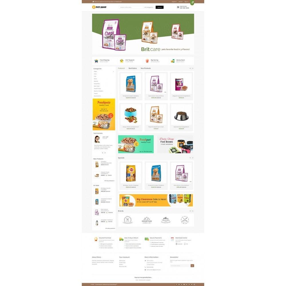 theme - Animals & Pets - Mega Pet Food - 2