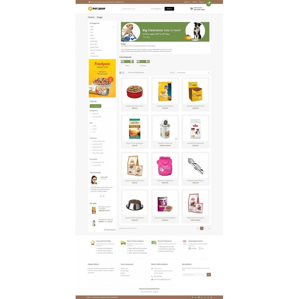 theme - Animals & Pets - Mega Pet Food - 3