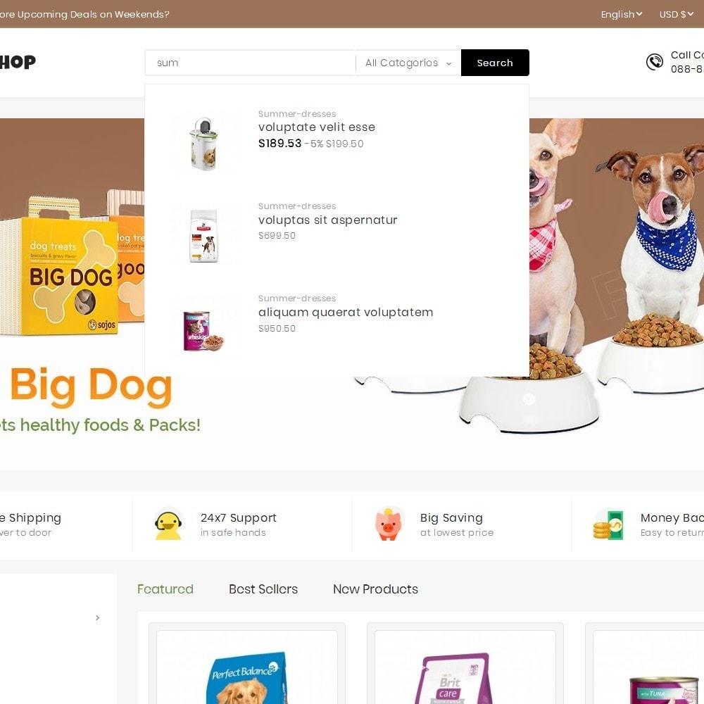 theme - Animals & Pets - Mega Pet Food - 10