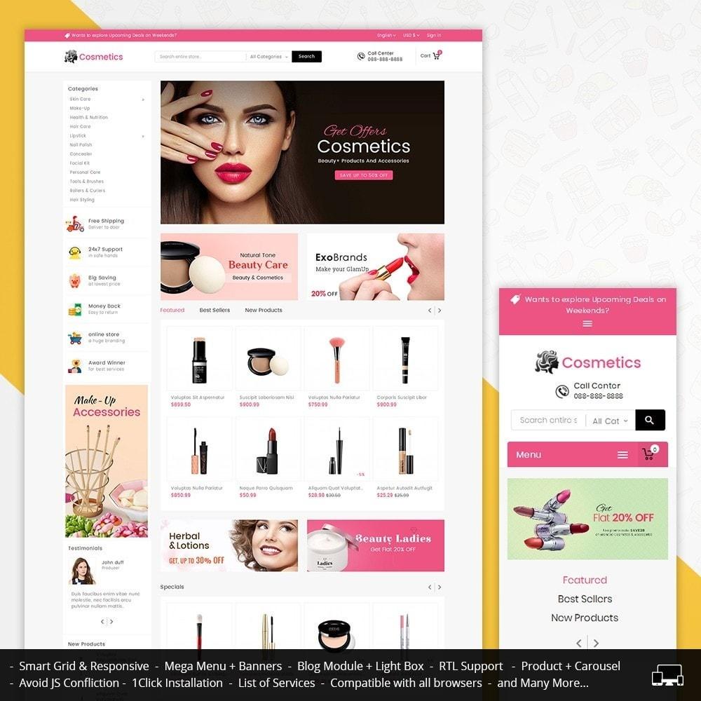 theme - Health & Beauty - Mega Cosmetics - 1