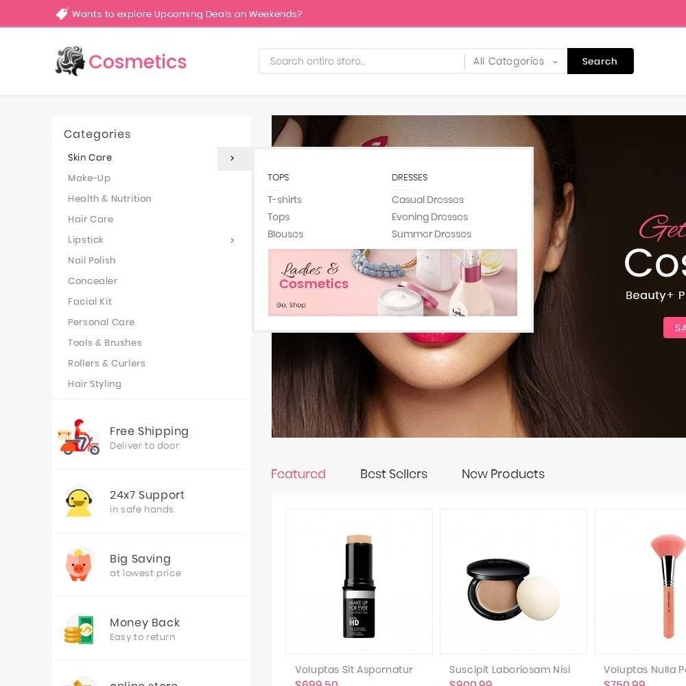 theme - Health & Beauty - Mega Cosmetics - 9