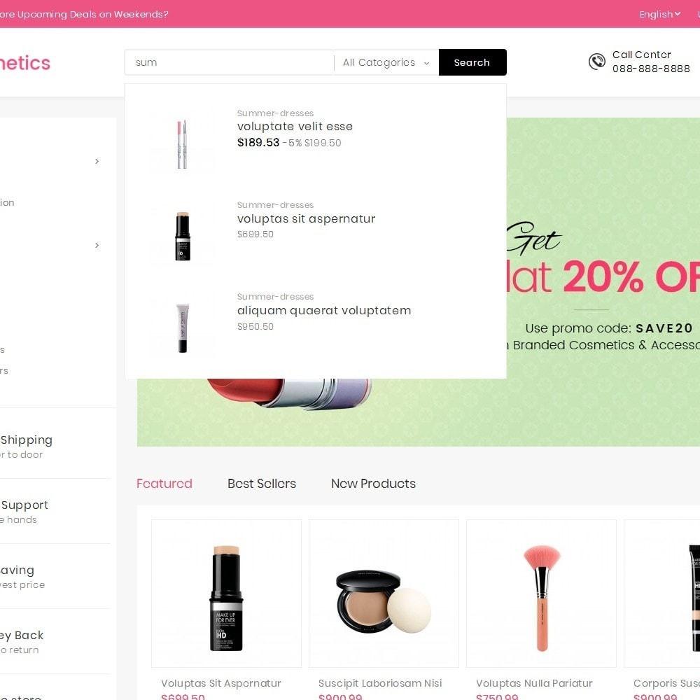 theme - Gezondheid & Schoonheid - Mega Cosmetics - 10