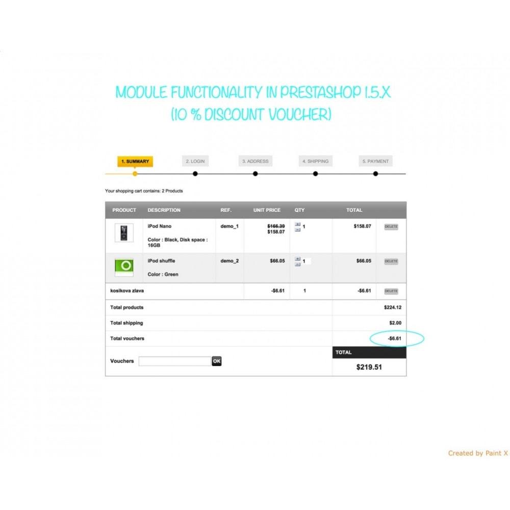 module - Promotions & Cadeaux - Panier d'achat et ses remises - 6