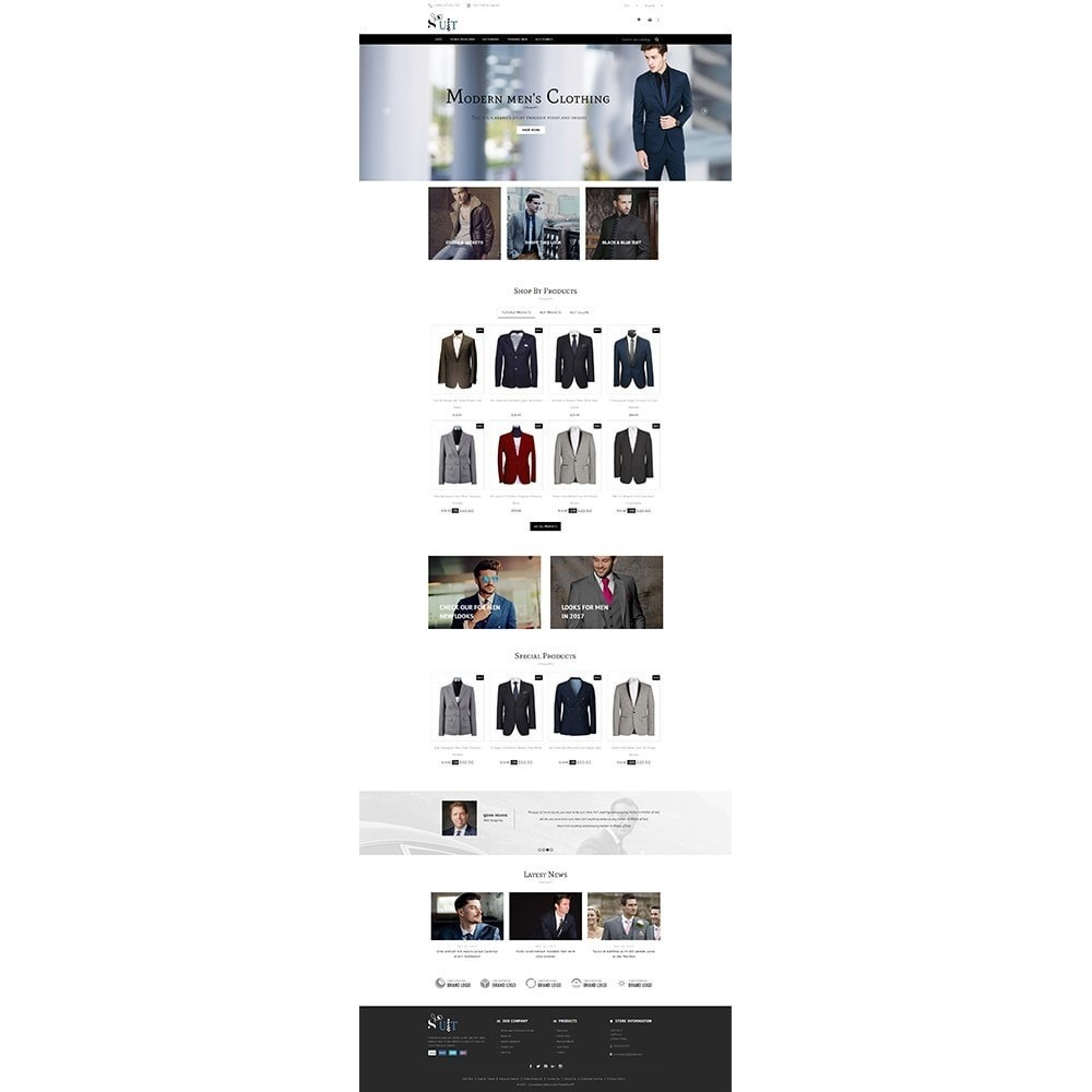 theme - Mode & Schuhe - Suit Store - 2