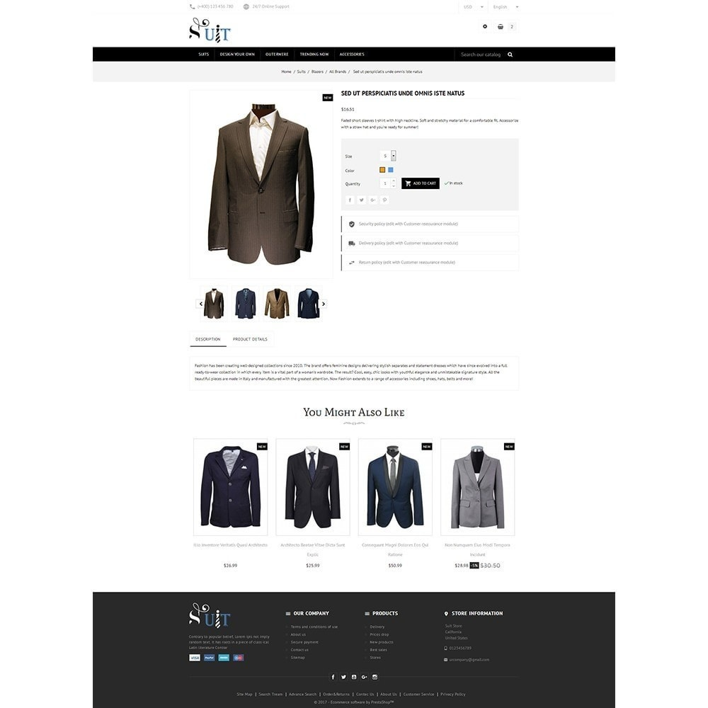 theme - Mode & Schuhe - Suit Store - 5