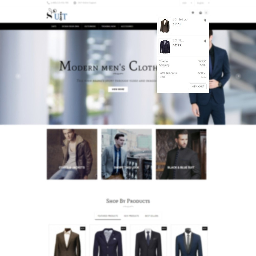 theme - Mode & Schuhe - Suit Store - 6