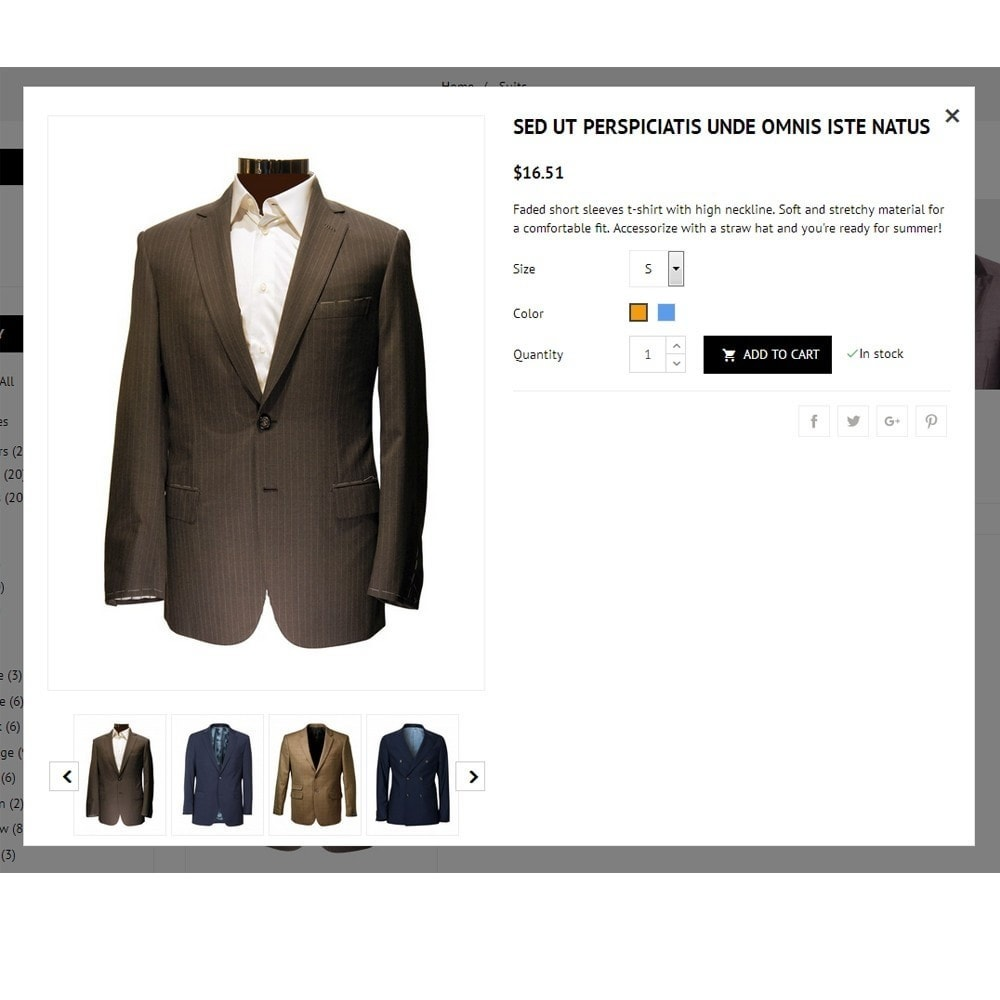 theme - Mode & Schuhe - Suit Store - 7