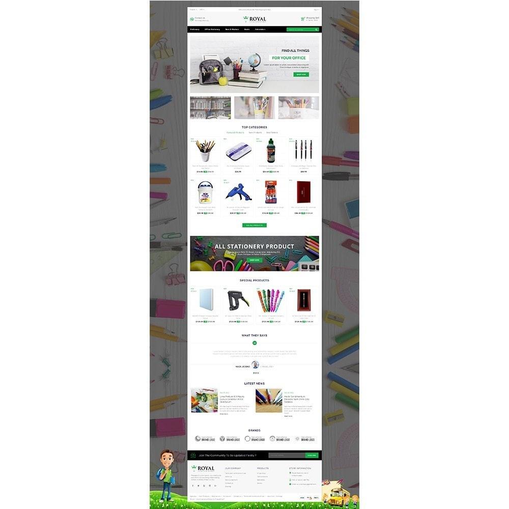 theme - Bambini & Giocattoli - Royal Stationary store - 2