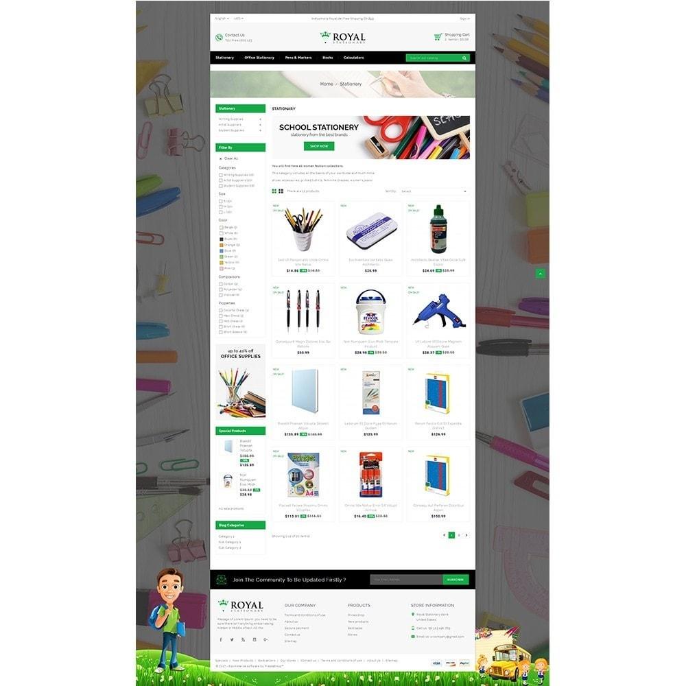 theme - Bambini & Giocattoli - Royal Stationary store - 3