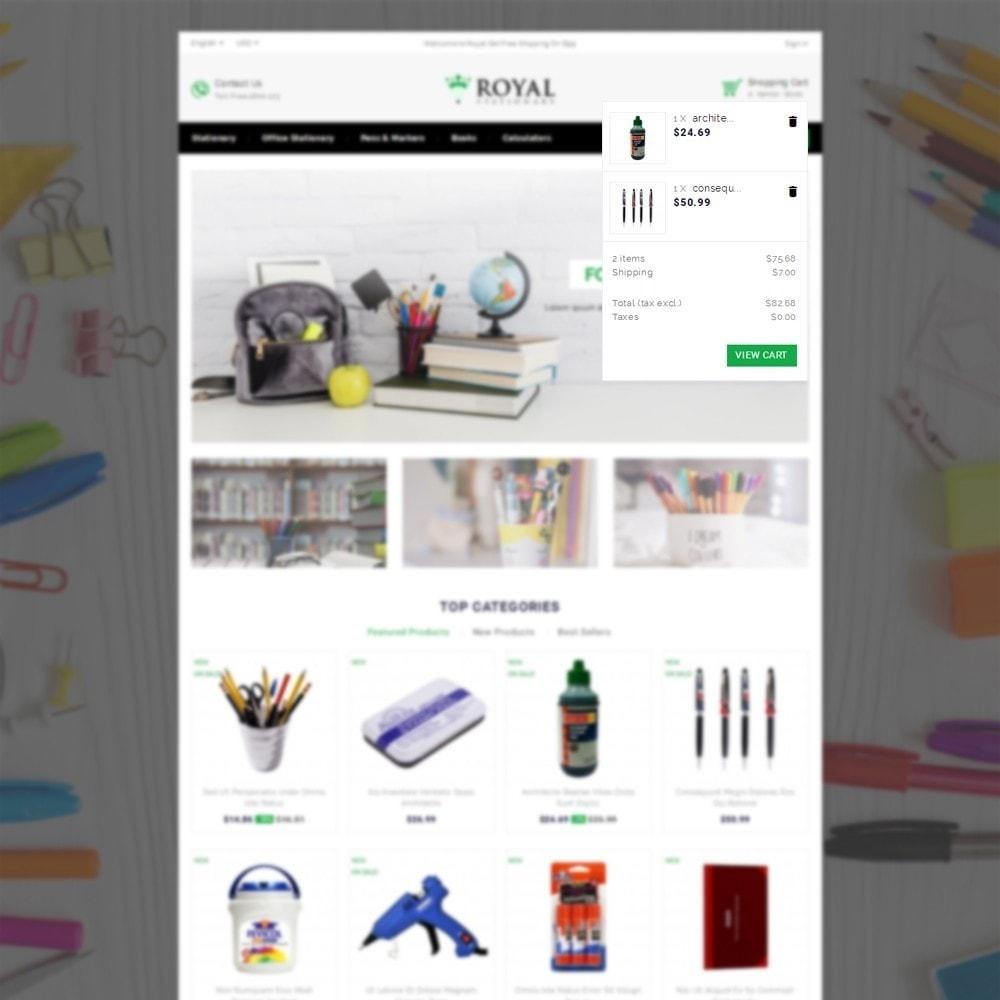 theme - Bambini & Giocattoli - Royal Stationary store - 6
