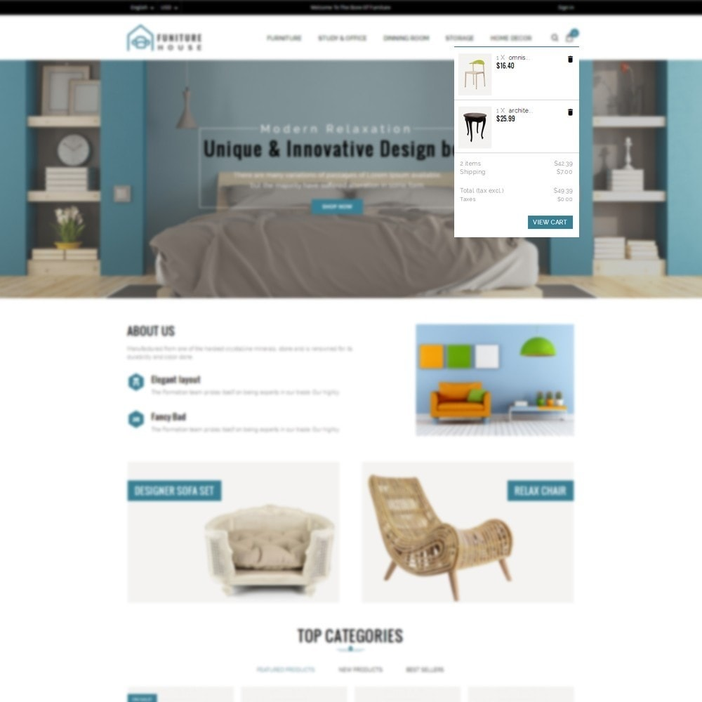 theme - Home & Garden - Furniture House Store - 6