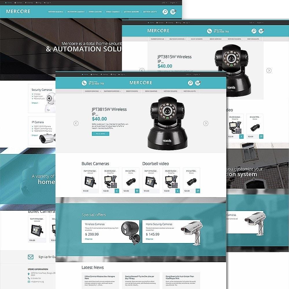 theme - Электроника и компьютеры - Mercore - шаблон по продаже средств безопасности - 2