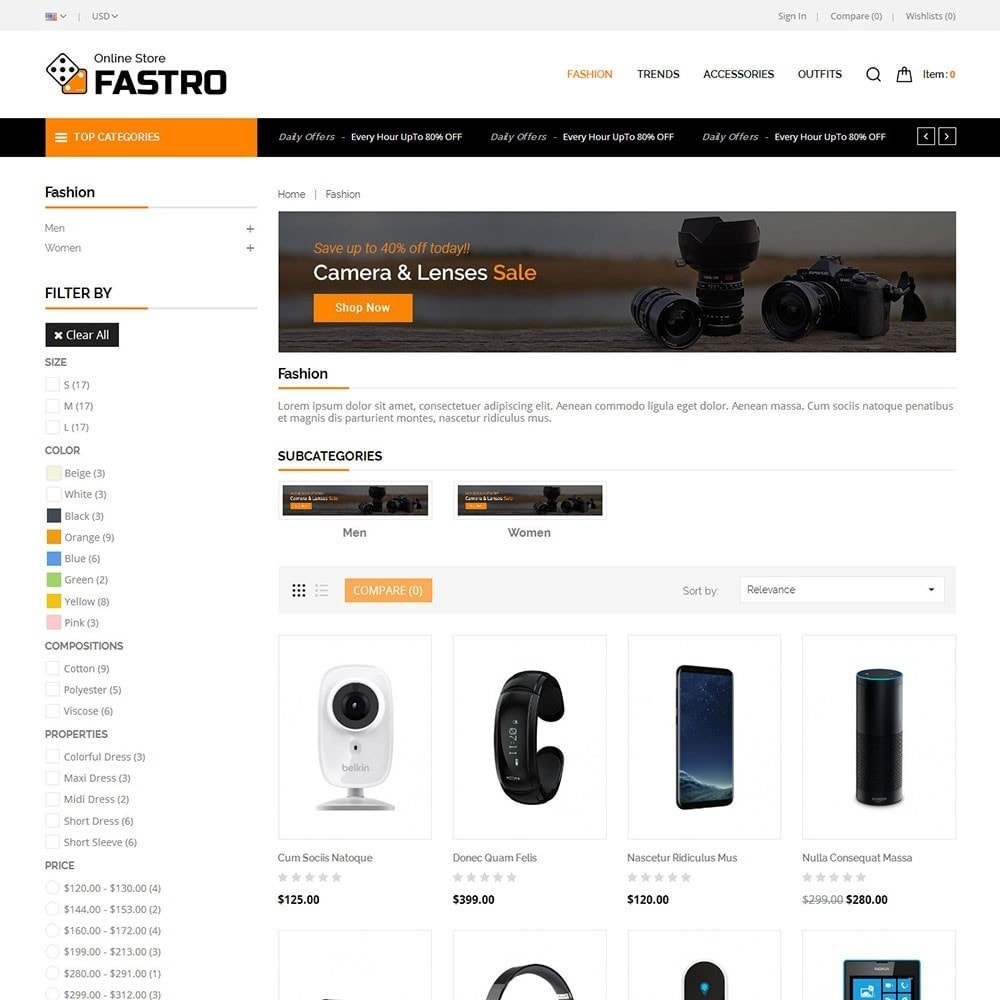theme - Electronics & Computers - Fastro Electro Store - 3