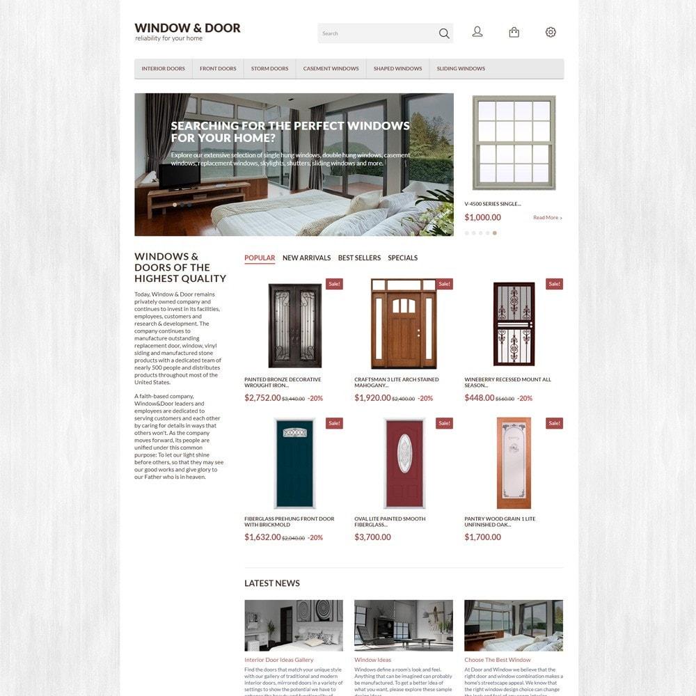 theme - Hogar y Jardín - Window Door para Sitio de Ventanas - 2
