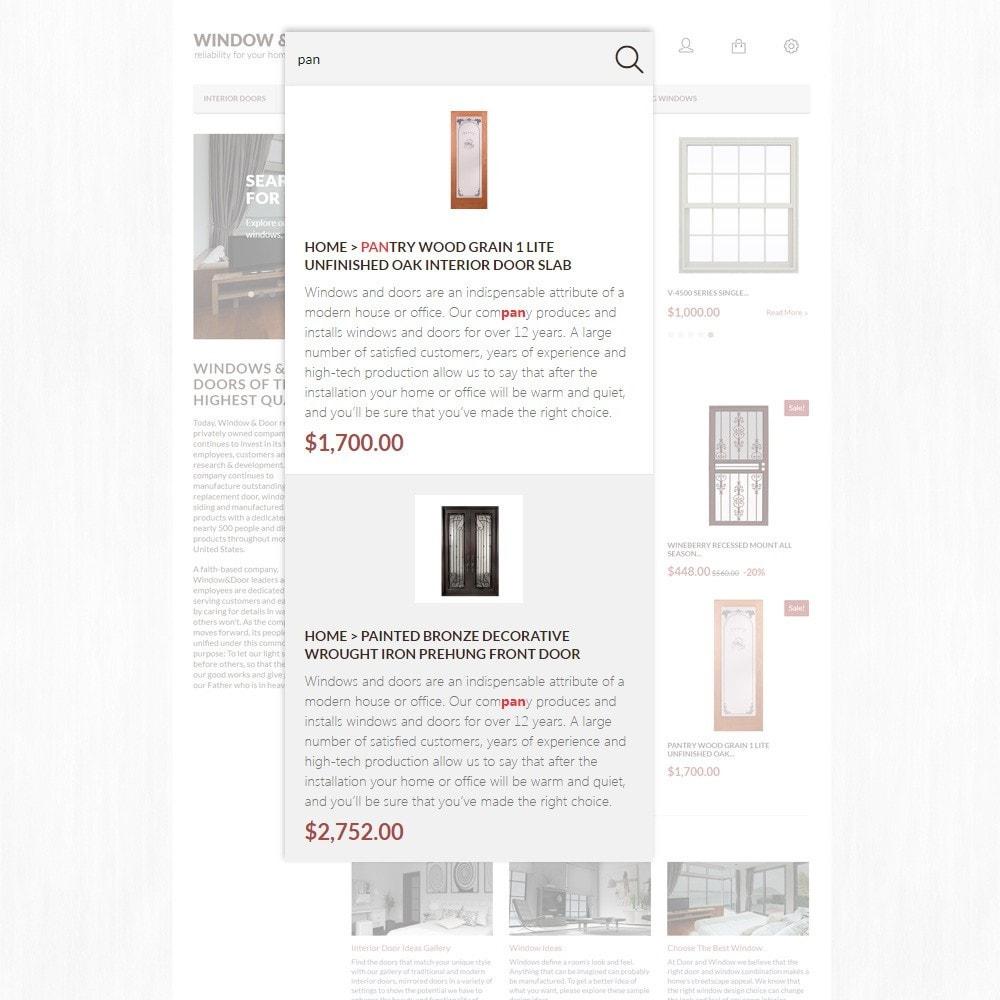 theme - Дом и сад - Window Door PrestaShop шаблон по продаже окон и дверей - 3