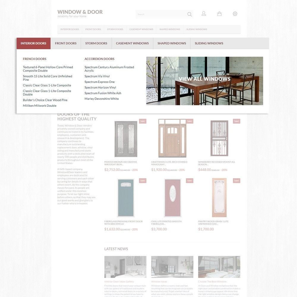 theme - Дом и сад - Window Door PrestaShop шаблон по продаже окон и дверей - 6